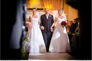 Casamento Juliana com Antonio e Patrícia com Filipe