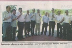 Inauguração da Praça Parque das Palmeiras